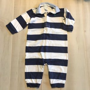 Polo Ralph Lauren Striped Baby Boy Outfit 9 Months